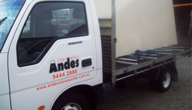 Andes Stone Works Vehicle