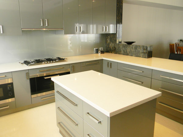 ... Kitchen Waterfall · Island Kitchen Benchtop